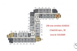 ขายคอนโด ไลฟ์ วัน ไวร์เลส  2 ห้องนอน ใน ลุมพินี, ปทุมวัน ใกล้  BTS เพลินจิต