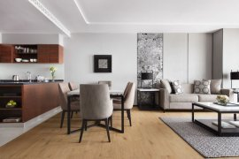 ให้เช่าเซอร์วิส อพาร์ทเม้นท์ 3 ห้องนอน ใน สีลม, บางรัก ใกล้  BTS ช่องนนทรี