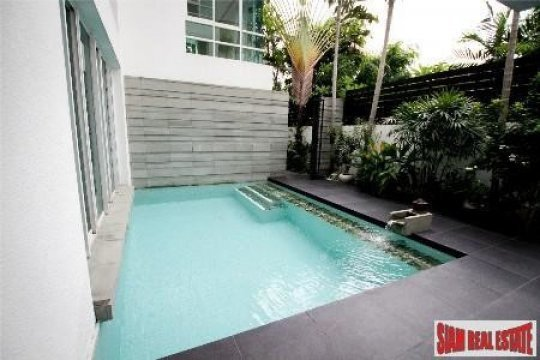 The Trees Sathorn Four Bedroom Luxury House With Private Pool For Rent In Sathorn House For Rent In Bangkok Thailand Property