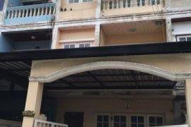 ให้เช่าทาวน์เฮ้าส์ 4 ห้องนอน ใน ตลาดขวัญ, เมืองนนทบุรี ใกล้  MRT บางกระสอ