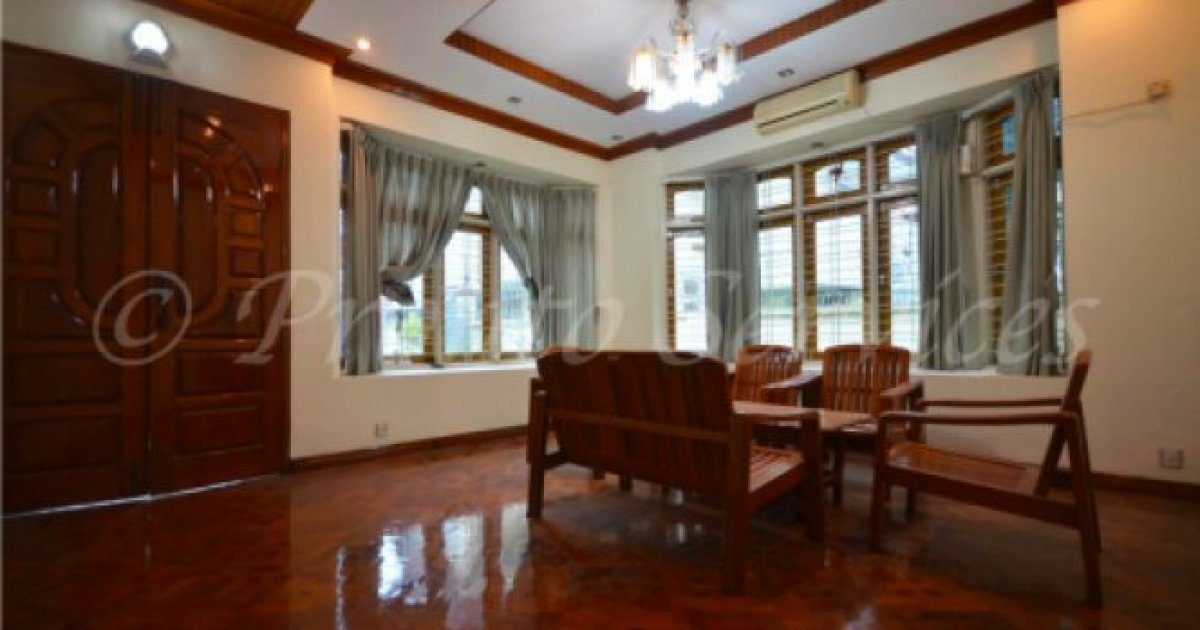 bed house for rent in yangon 2688 dot property