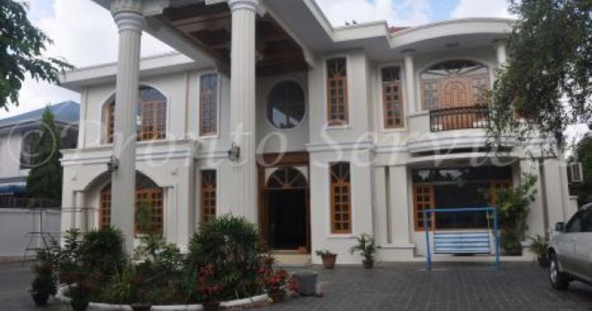 bed villa for rent in yangon 2815 dot property