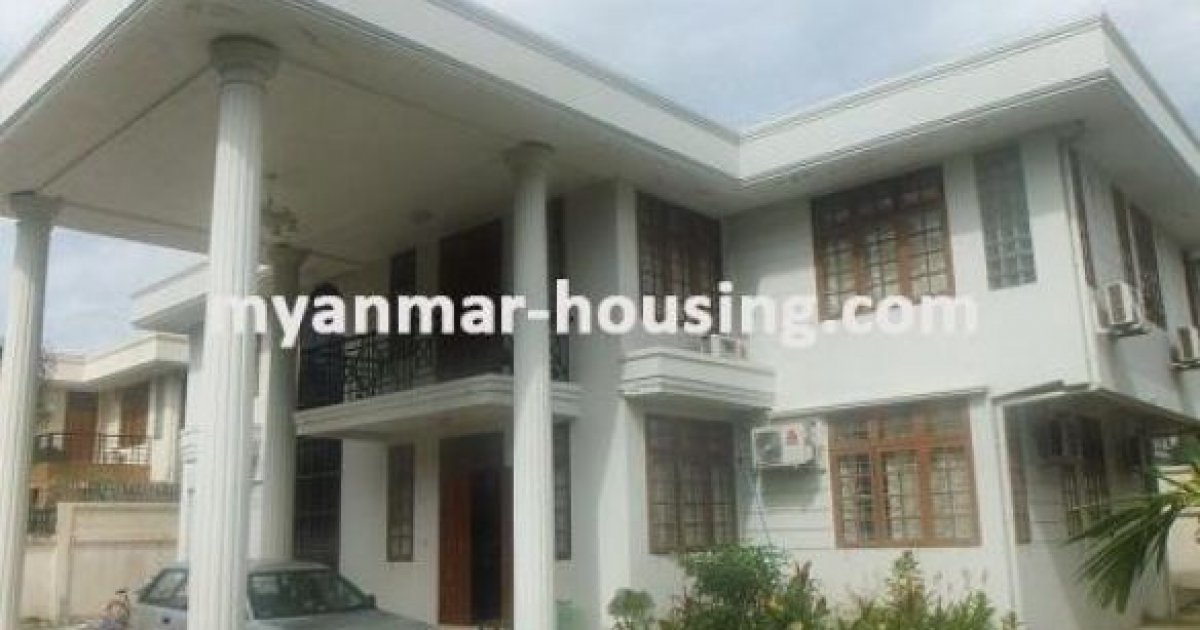 bed house for rent in yankin yangon lks52 671944 dot property