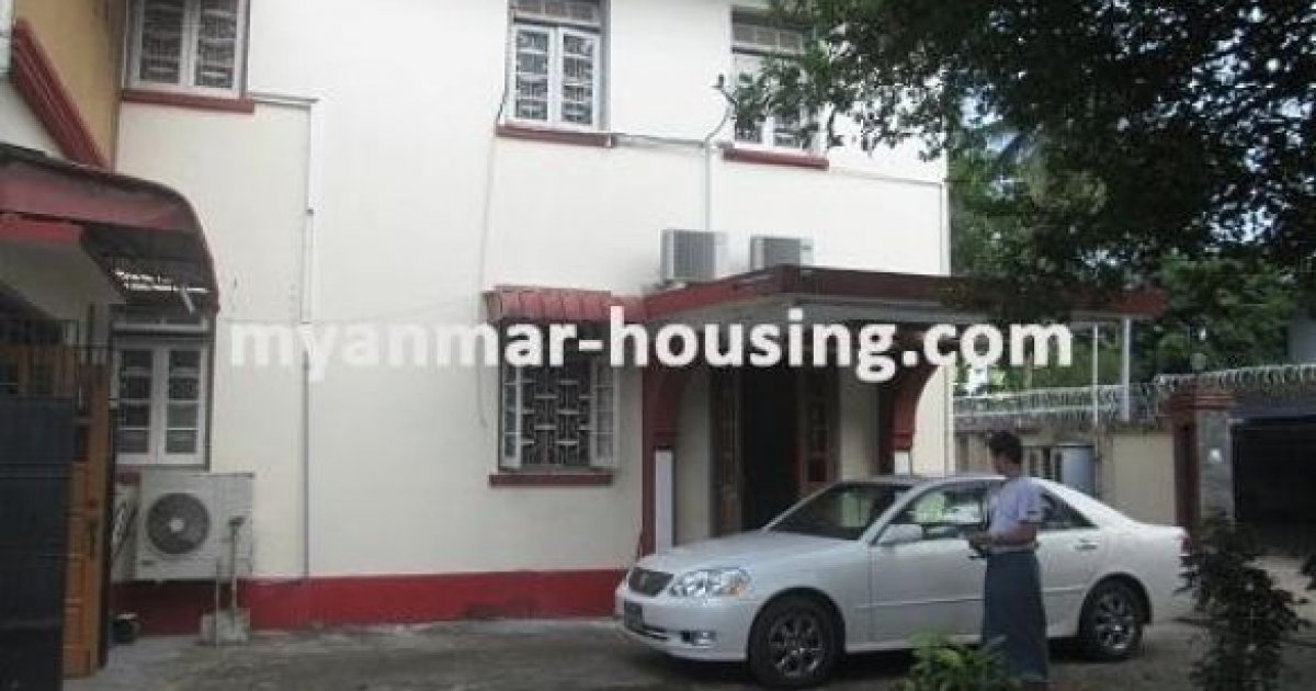bed house for rent in bahan yangon lks60 672128 dot property