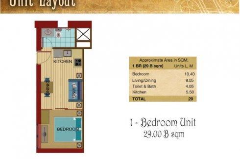 1 Bedroom Condo For Sale In La Nobleza Terrazas Manila Metro Manila