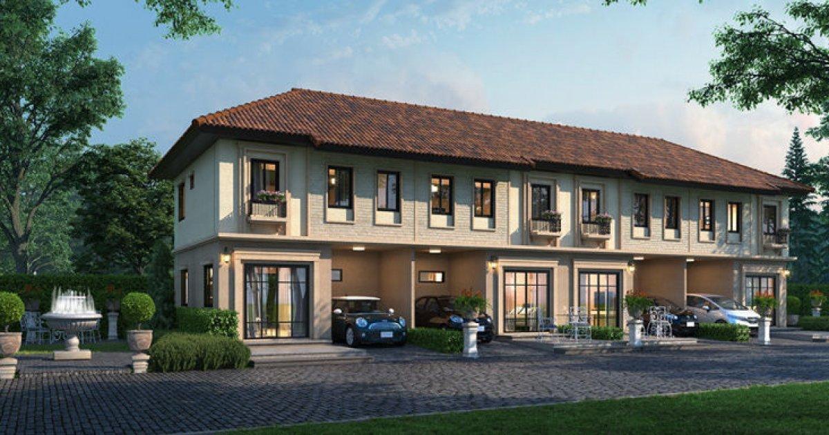 4 Bed Townhouse For Sale In Pruksa Ville Thepharak 1 990 000 1972826 Dot Property