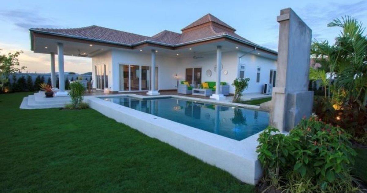 3 bed villa for sale in thap tai hua hin 6 800 000 for 8 villas hua hin
