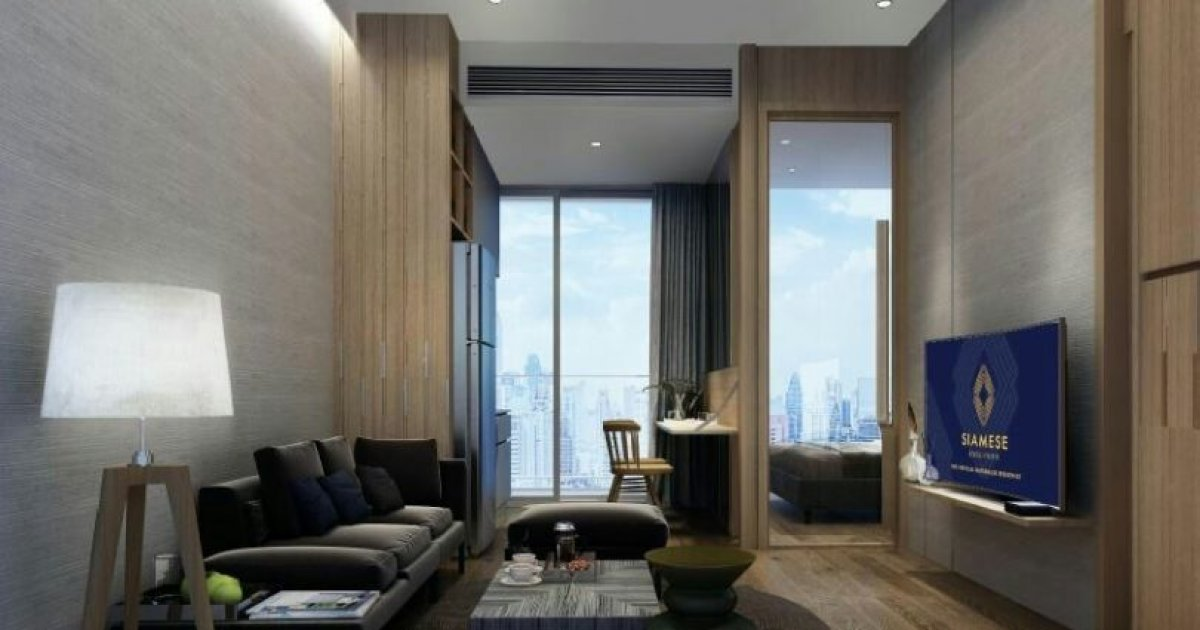 1 bed condo for sale in siamese exclusive 42 1960015 for I bedroom condo for sale