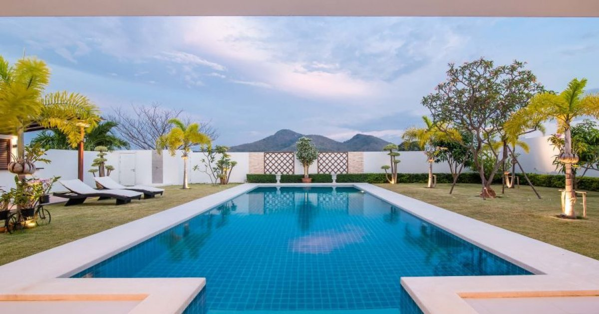 4 bedroom villa for rent house for rent in prachuap for 4 room house for rent
