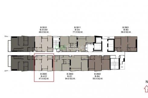 ขายคอนโด อิมเพรสชั่น เอกมัย  1 ห้องนอน ใน คลองตันเหนือ, วัฒนา ใกล้  BTS ทองหล่อ