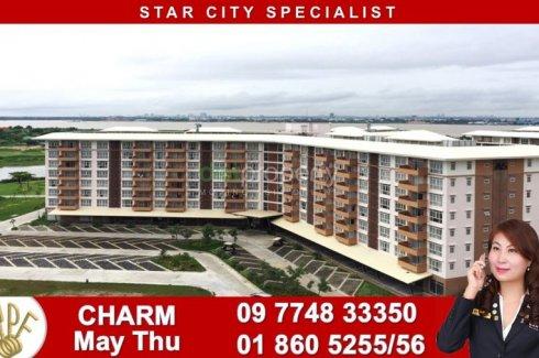 1 အိပ္ခန္းမ်ား ကြန္ဒို ေရာင္းရန္ အတြင္း Star City Thanlyin, Yangon